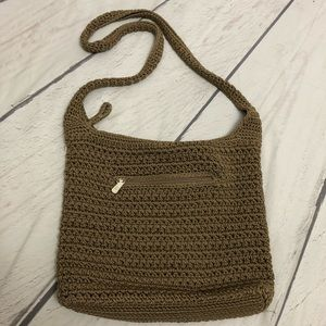 The Sak Tan Crochet Boho Purse